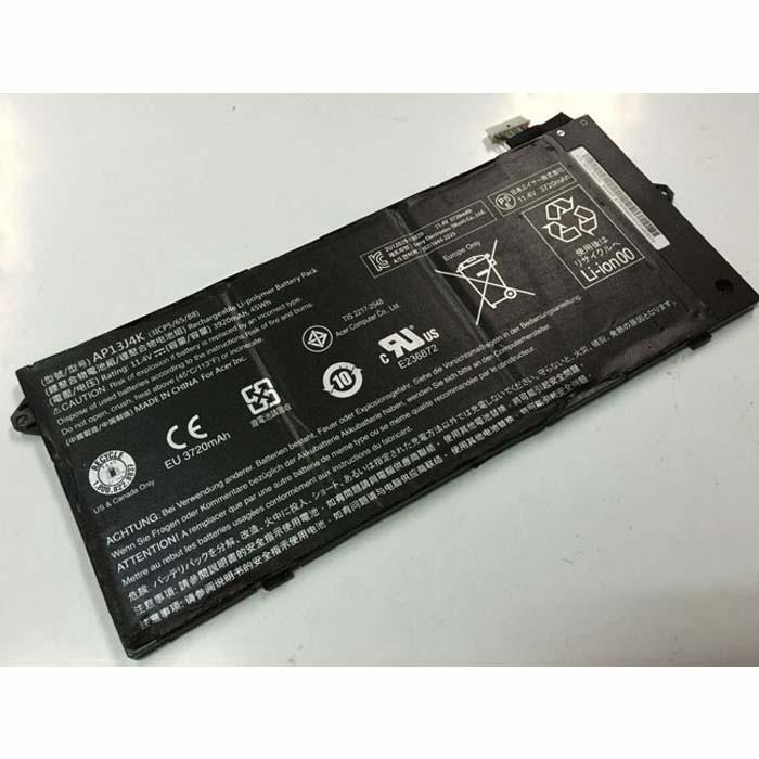 ACER AP13J4K batterie - Acheter 3920mAh/45Wh 11.4V AP13J4K d'ordinateur Portable  batteries
