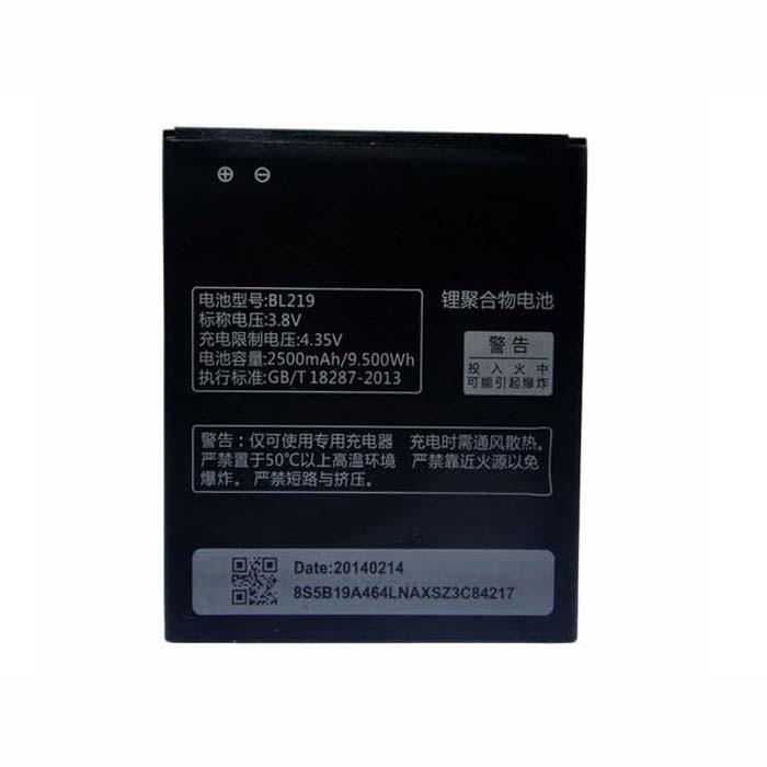 Lenovo BL219 batterie - Acheter 2500mAh/9.50Wh 3.8V BL219 Smartphone  batteries