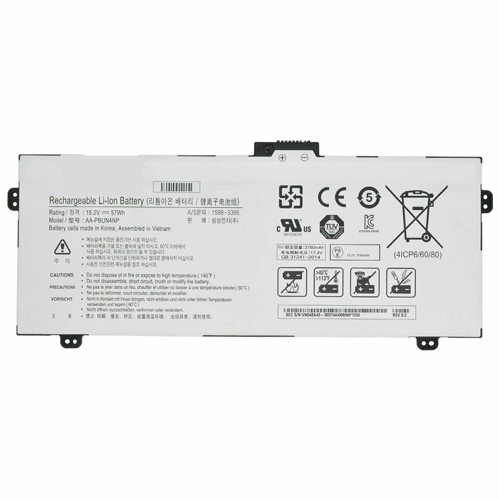 Samsung AA-PBUN4NP batteries - Acheter 3780mAh/57WH 15.2V/17.4V AA-PBUN4NP batterie d'ordinateur portable