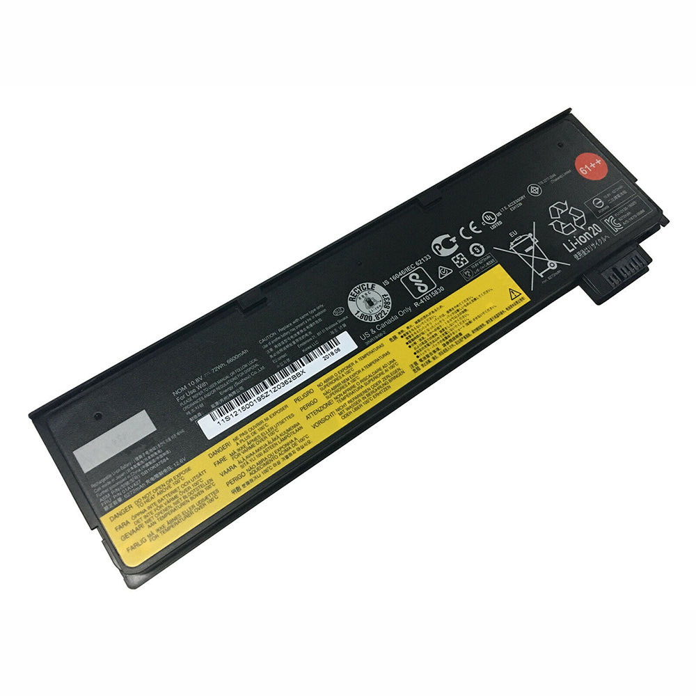 6600mAh/72WH 10.8V/12.6V 01AV428 Replacement Battery for Lenovo ThinkPad T470 T570
