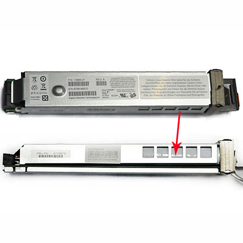 52.2WH IBM BATTERY BACKUP UNIT DS4700/DS4200 13695-05 / P/N:13695-07 Replacement Battery 41Y0679 P/N:13695-07 S/N:4709180010