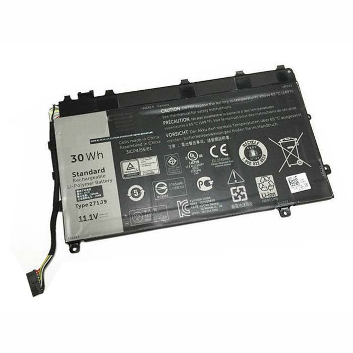 30WH Dell Latitude 13 7000 Series Replacement Battery 271J9 11.1V