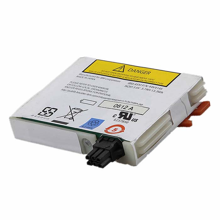 3.7Ah 13.3Wh IBM 74Y5667 5679 57B7 P6 520 raidcard Cache Replacement Battery 44V4145 3.6V