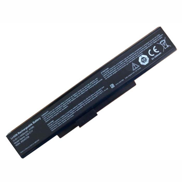 4400mah MEDION Akoya P7628 A32-C17 E7223 P7631 Replacement Battery A32-C17 10.8V(Not compatible 14.4V)