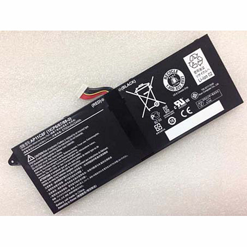 24wh/6700mah Acer Tablet 1ICP5/67/90-2 Replacement Battery AP11C8F 3.7V