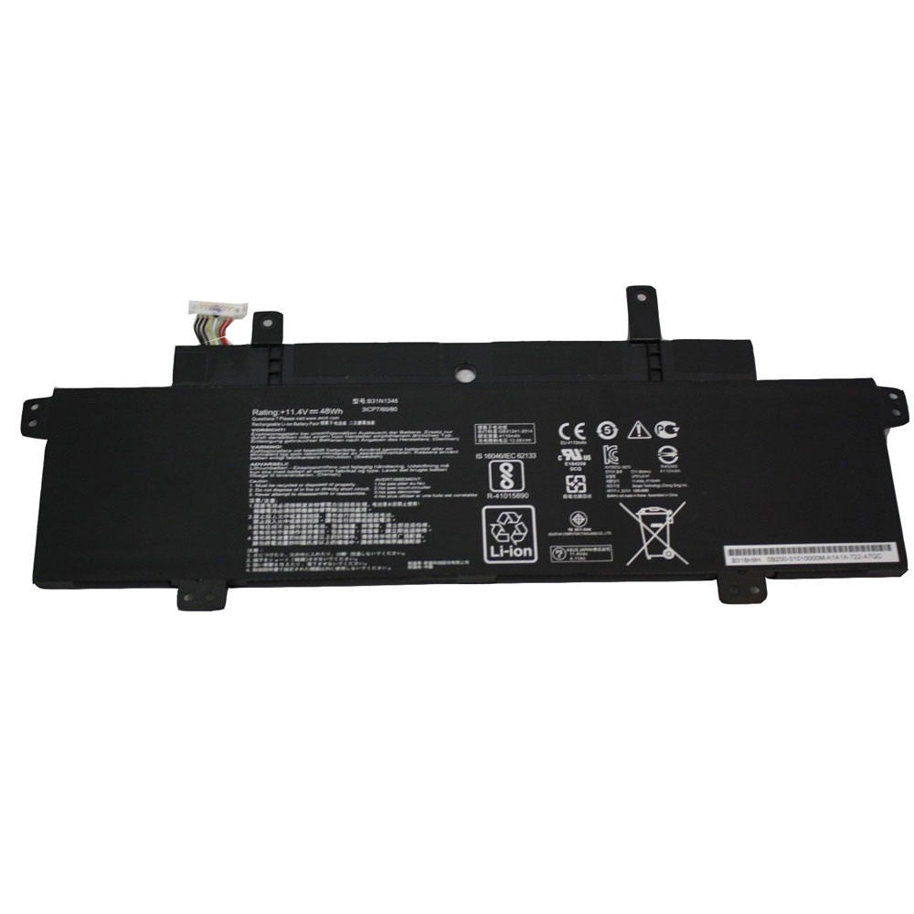 48Wh 11.4V B31N1346 Replacement Battery for Asus Chromebook C300MA C300MA-DB01 13.3