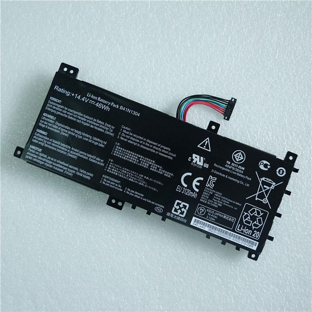 46Wh 14.4V B41N1304 Replacement Battery for Asus V451L V451LA S451LA B41BK4G Series