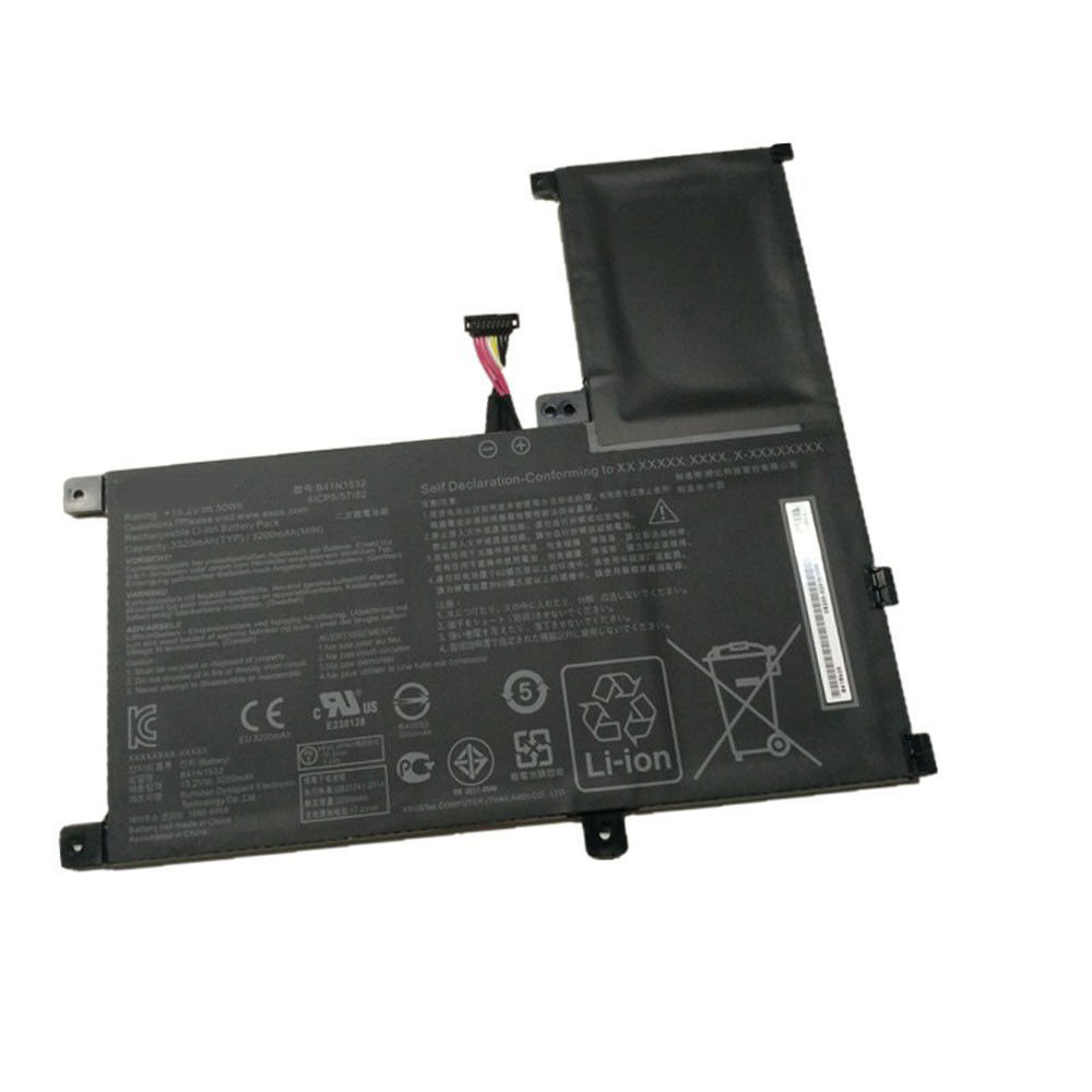 3200mAh/50Wh 15.2V B41N1532 Replacement Battery for Asus UX560 UX560UA Q504UA 15.6""