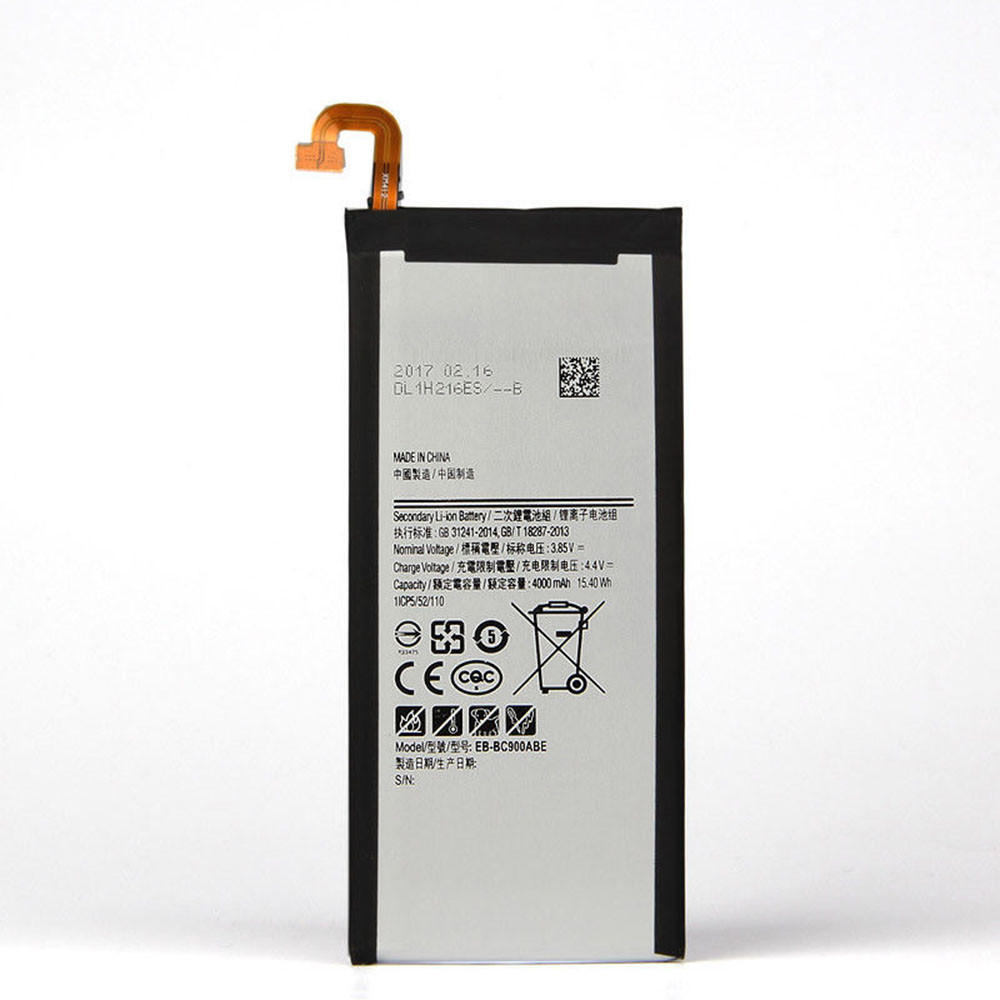 4000mAh/15.4WH 3.85V/4.4V EB-BC900ABE Replacement Battery for Samsung Galaxy C9 Pro C9000 C900F