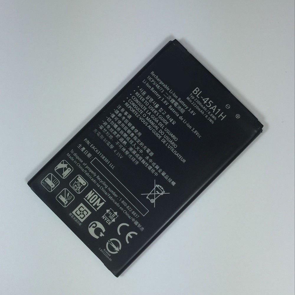 2300MAH/8.8Wh 3.8V BL-45A1H Replacement Battery for LG K10  K425 K428 MS428 F670