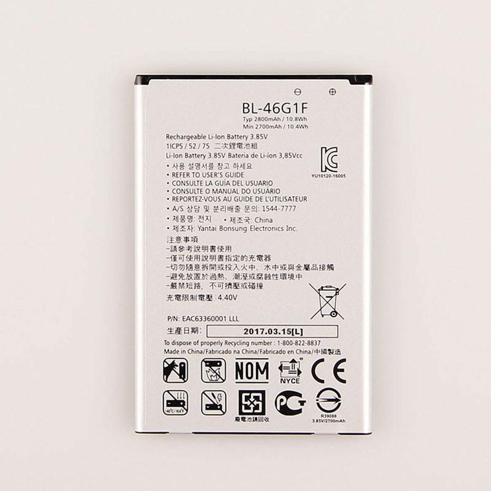 2800MAH/10.8Wh 3.85V/4.4V BL-46G1F Replacement Battery for LG 2017 Version K10 X400 LGM-K121K BL46G1F