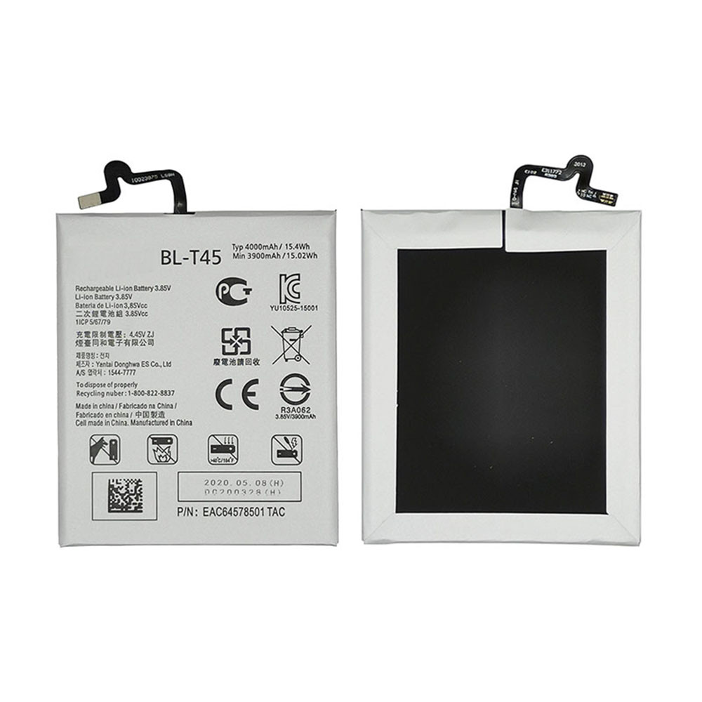 3900mAh/15.0WH 3.85V BL-T45 Replacement Battery for LG K50S 2019 LMX540HM X540 X540EMW