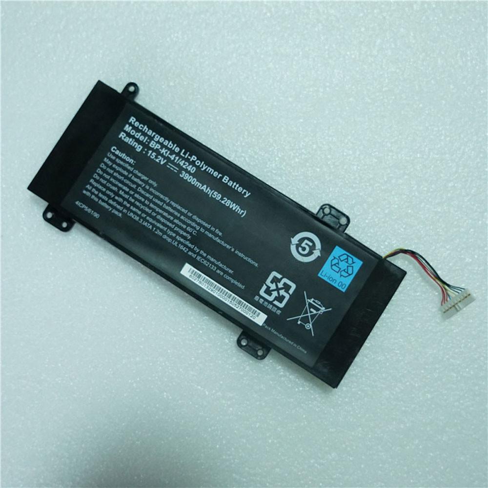 3900mAh 59.28Wh 15.2V/4.35V BP-KI-41/4240 Replacement Battery for MSI Laptop