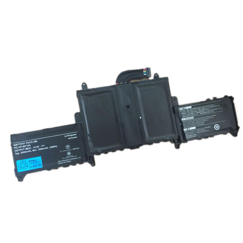 1880mAh/28W 14.8V PC-VP-BP105 Replacement Battery for NEC Lavie Nyubrid ZERO LaVie G PC-GL 186Y3AZ