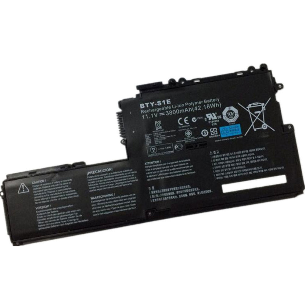 42.18Wh/3800mAh 11.1V BTY-S1E Replacement Battery for MSI Slider S20 Tablet PC Series