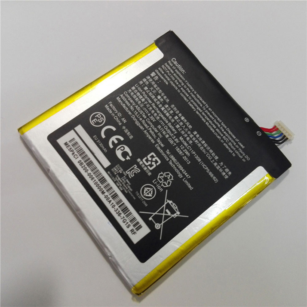 3130mAh/12.2WH 3.8V/4.35V C11P1309 Replacement Battery for Asus Fonepad Note FHD 6 & ME560CG K00G