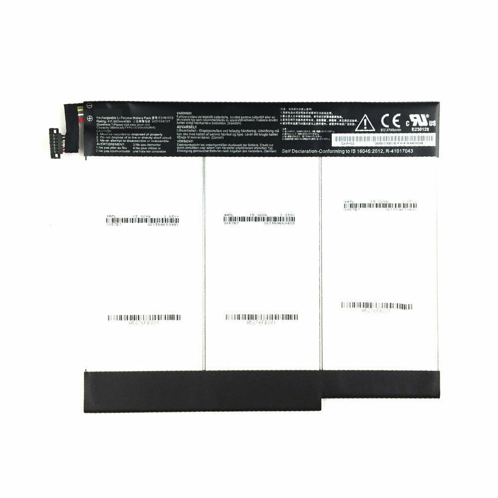 3790mAh/45WH 11.55V C31N1512 Replacement Battery for Asus 31CP3/58/137
