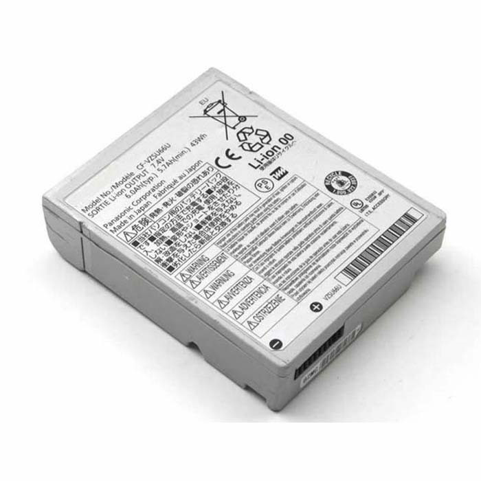 43Wh Panasonic Toughbook CF-C1 CF-C1AT01GG Tablet PC Replacement Battery CF-VZSU66U 7.4V