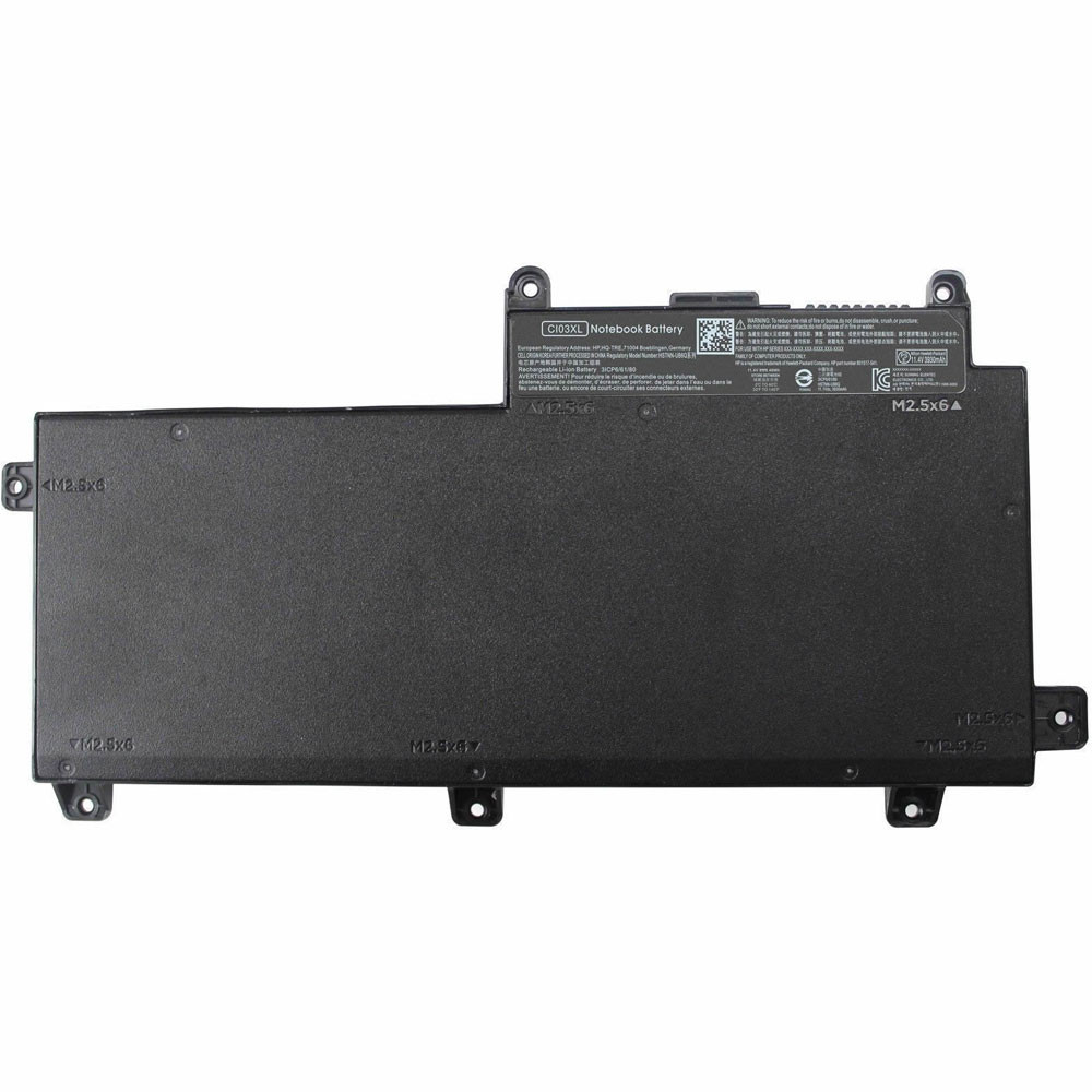 48wh HP ProBook 640 645 650 655 G2 Replacement Battery CI03XL 11.4V