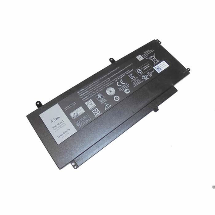 43Wh Dell Inspiron 15 7547 Replacement Battery D2VF9 0PXR51 11.1V