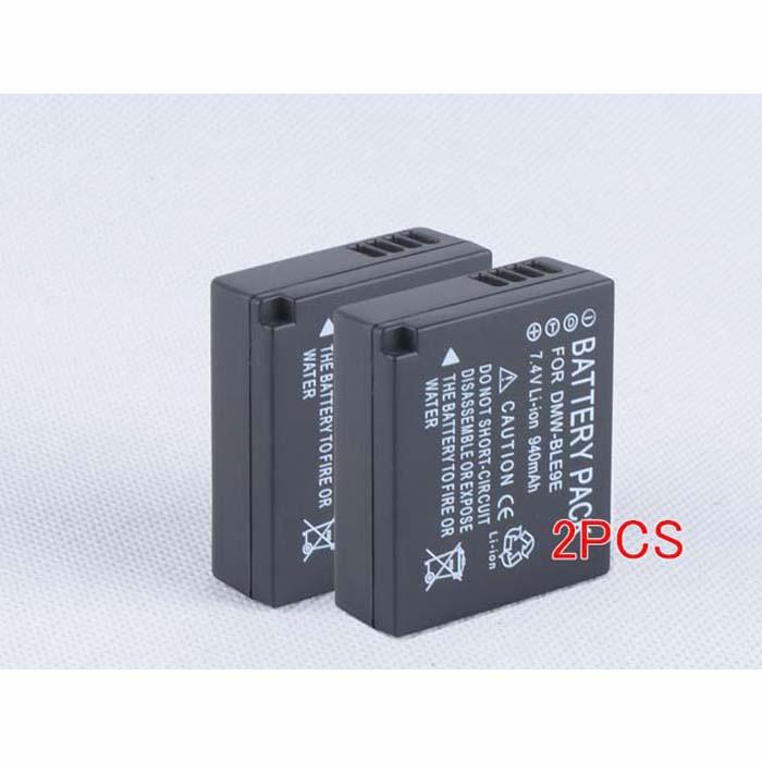 940mah/6.8wh Panasonic Lumix LX100/GF6/G DMC-GF3 GF5 Replacement Battery DMW-BLG10 DMW-BLG10E DMW-BLE9E  7.2V