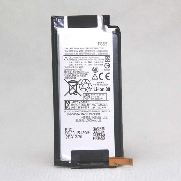 3550mAh / 3760mAh Motorola XT1585 Droid Turbo 2 XT1581 Replacement Battery FB55 3.8V