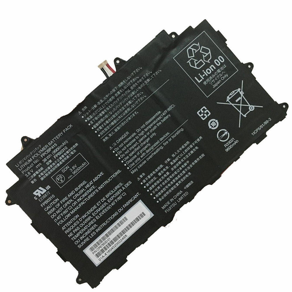 9900mAh/38WH 3.8V FPB0310 Replacement Battery for Fujitsu CP678530-01