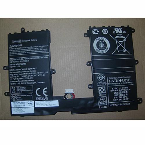 31wh/8380MAH HP CD02031 31wh/8380MAH Replacement Battery HSTNH-L01B 3.7V