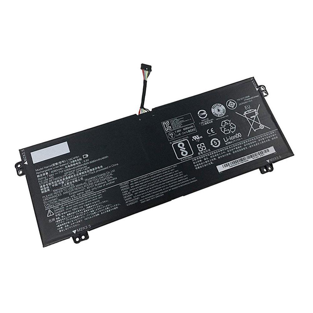 6080mAh/48Wh 7.68V L16C4PB1 Replacement Battery for Lenovo YOGA 720-13IKB Series