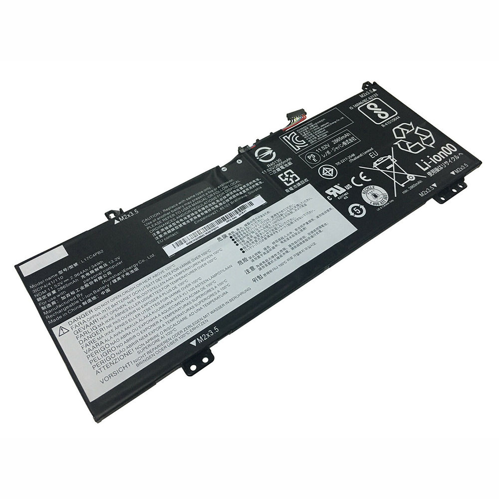 2964mAh/34WH 11.52V/13.2V L17C4PB2 Replacement Battery for Lenovo IdeaPad 530S-14IKB Flex 6-14IKB