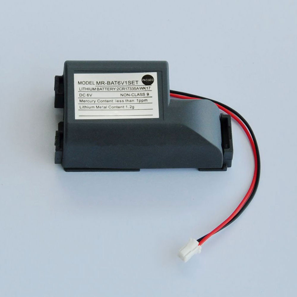 2000mAh 6V MR-BAT6V1SET Replacement Battery for Mitsuishi MR-J4 6V PLC Battery 2CR17335A WK17