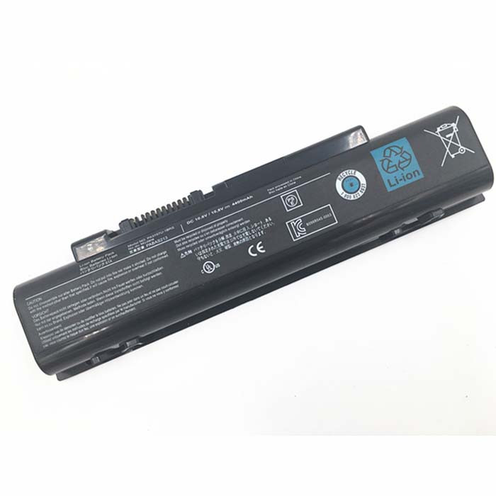4400mAh/48wh Toshiba Qosmio T750 T751 T851 F60 F750 F755 V65 Replacement Battery PABAS213 10.8V(Compatible with 11.1V)