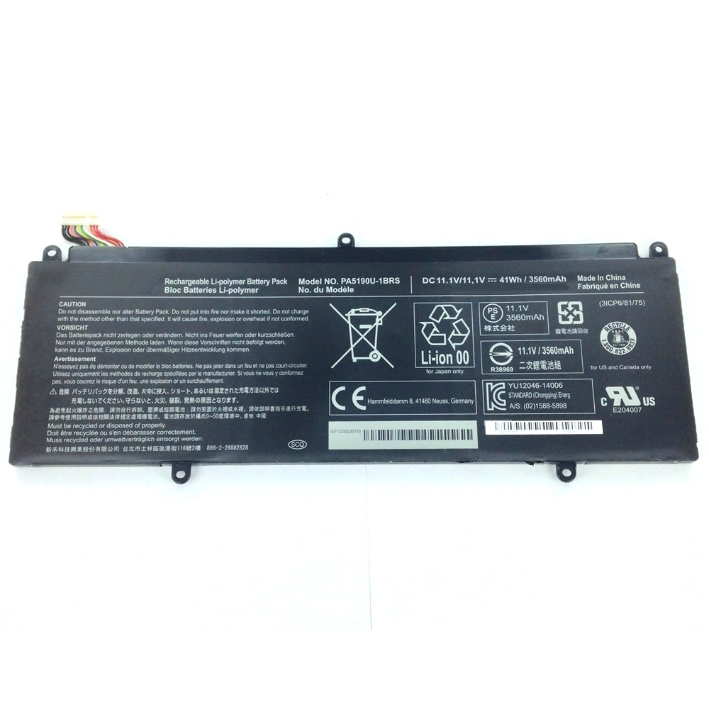 3560mAh /41Wh Toshiba Satellite P35W-B Series Replacement Battery PA5190U-1BRS 11.1V