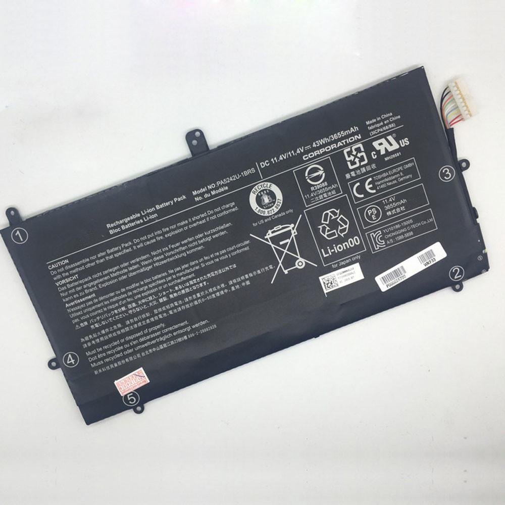43Wh/3655mAh 11.4V PA5242U-1BRS Replacement Battery for Toshiba Satellite Radius 12 P20W P25W-C Series