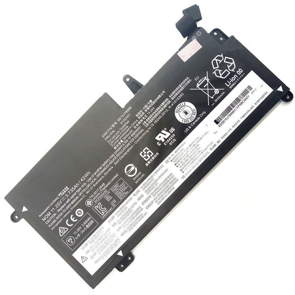3.735Ah/42Wh 11.25V(Compatible 11.4v  Not Compatible 15.2V) SB10J78998 Replacement Battery for Lenovo ThinkPad S2 13 Chromebook Series