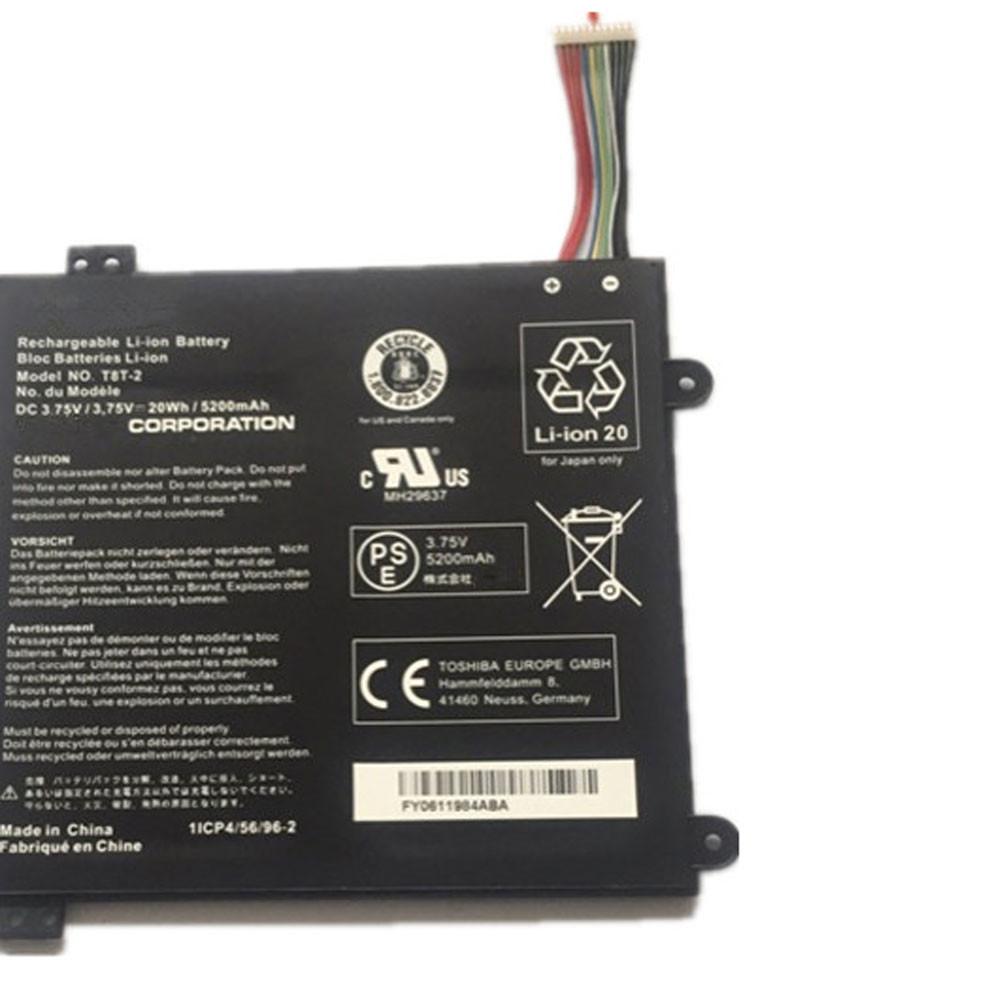 20Wh/5200mAh 3.75V T8T-2 Replacement Battery for Toshiba Satellite Click Mini L9W-B Series
