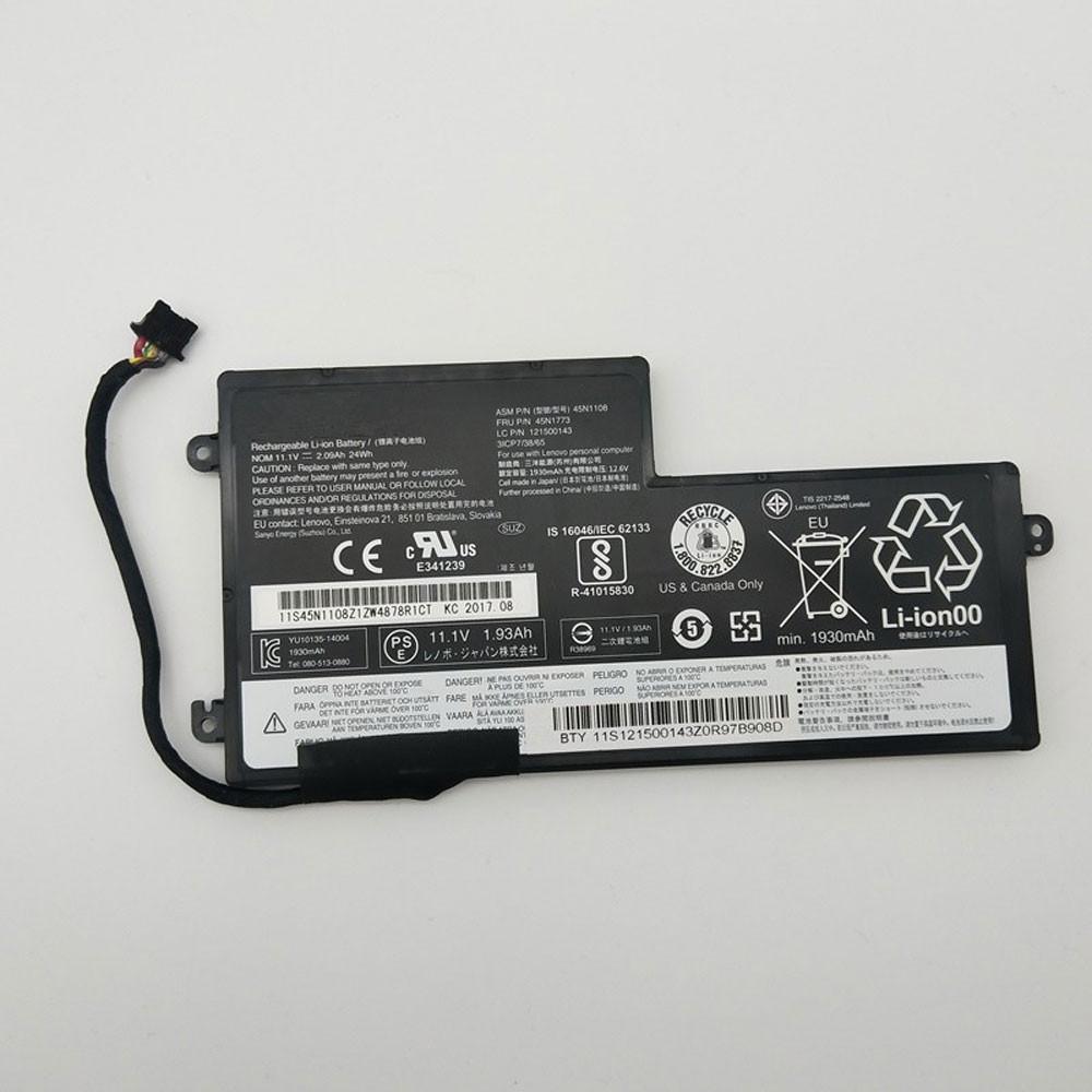 24Wh 11.1V/11.4V 45N1110 Replacement Battery for Lenovo ThinkPad T440S T440 T450 T450s T460 X240 X240S X250 X250S X260 S440 S540 Series