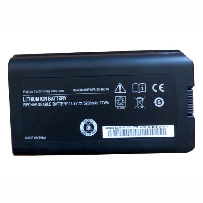 5200MAH/77wh FUJITSU X9510 X9515 X9525 Replacement Battery SMP-MFS-SS-26C-08 14.8V(not compatible with 11.1V)