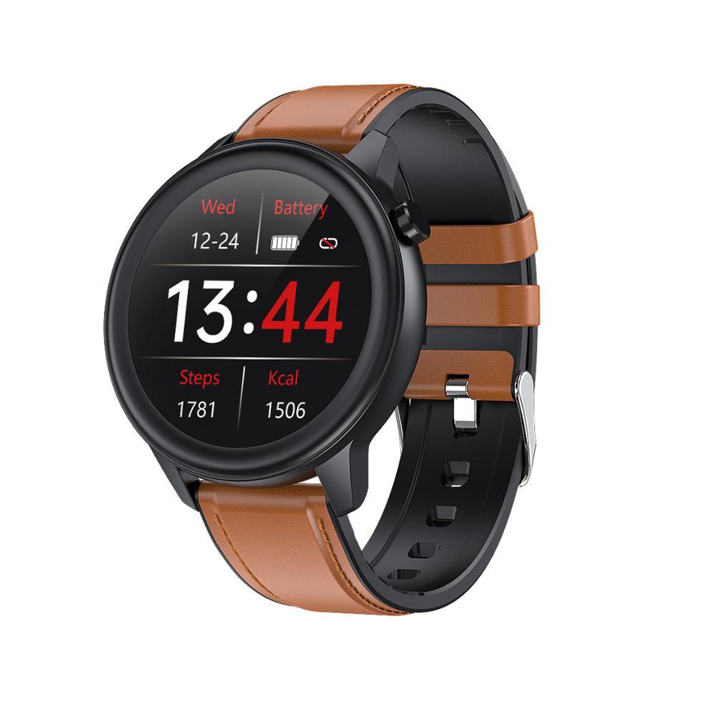 F81 Men Business Smart Watch Body Temperature IP68 Waterproof Blood Pressure Heart Rate Fitness Tracker Sports Smartwatch