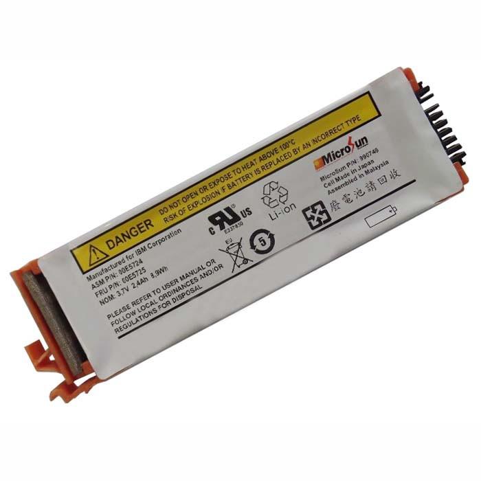 2.4Ah 8.9Wh IBM 44V7597 Brand New 74Y6124 74y5997 42r8705 Replacement Battery 44V7597 3.7V