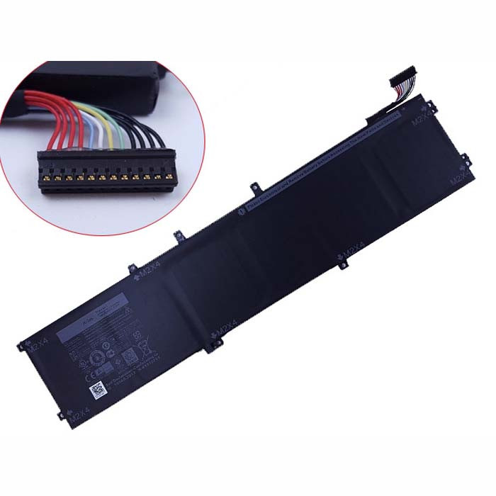 84Wh DELL XPS 15 9550  4GVGH 1P6KD Replacement Battery 4GVGH 11.4V