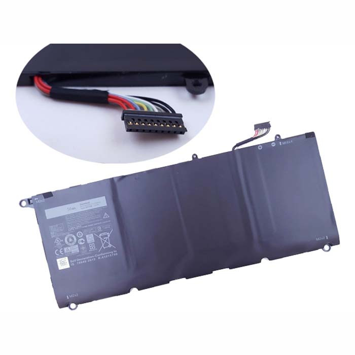 56wh Dell XPS 13  5K9CP DIN02 JD25G Replacement Battery 90V7W 7.6V