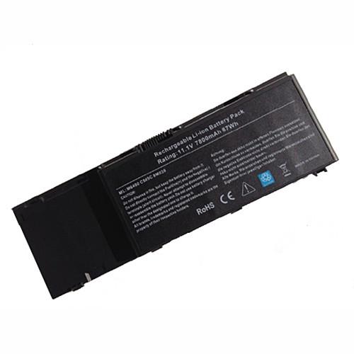 85WH/7800mAh Dell Precision M6500  Dell Precision M6400 9cells 7800mAh Replacement Battery C565C 8M039 11.1V(compatible with 10.8V)