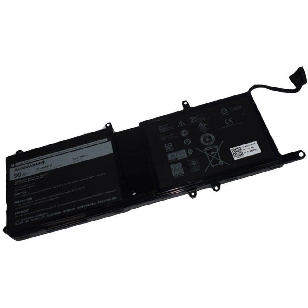 99Wh Dell Alienware 17 R4 ALW17C-D2738 D1738 D2748 D2758 R1748 Replacement Battery 9NJM1 11.4V