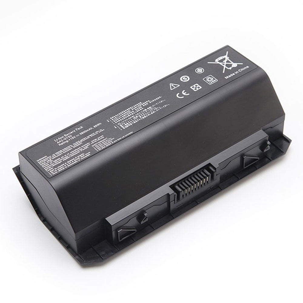 5900mAh/88WH 15V A42-G750 Replacement Battery for ASUS ROG G750 G750J G750JH G750JM G750JS G750JW