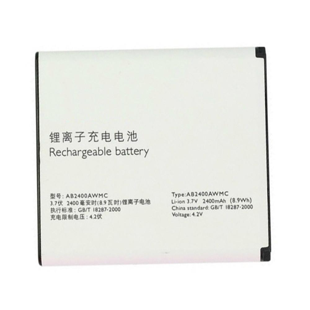 2400 mAh Philips Xenium D833 W6500 W732 W736 W832 Replacement Battery AB2400AWMC 3.7 DVC