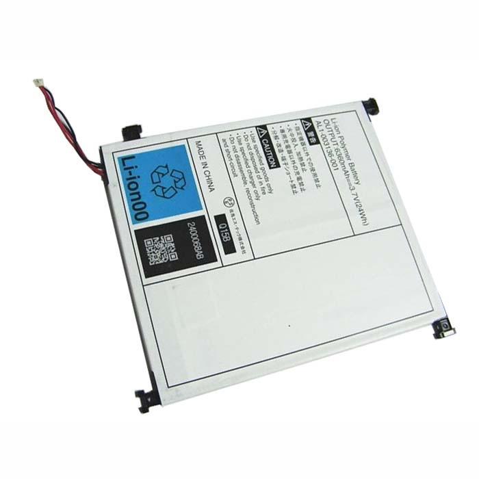 24WH/6360MAH NEC AL1-003136-001 Tablet Replacement Battery AL1-003136-001 3.7V