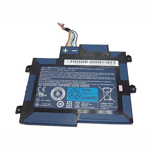 1530mAh /11.3Wh Acer Iconia Tab A100 A101 Replacement Battery BAT-711 BT00203005 7.4v