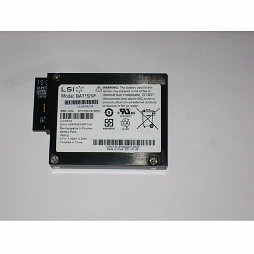 1.59ah/5.9wh LSI MegaRaid iBBU08 IBM ServeRAID M5000 Battery  M5014 M5015 Replacement Battery 9260-8i 9280-8i 3.7V