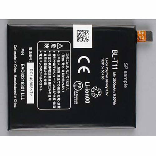 2500mah LG L22 isai BL-T11 BLT11  Replacement Battery BL-T11 3.8V